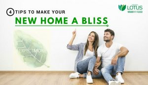 MAKE YOUR NEW HOME A BLISS
