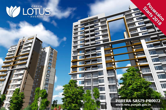 GREEN LOTUS AVENUE - Flats in Zirakpur
