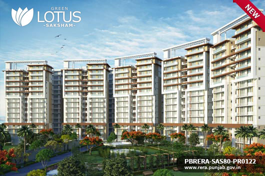 GREEN LOTUS SAKSHAM - Apartments in Zirakpur
